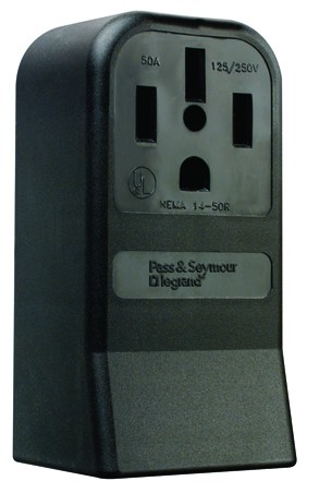 Power Outlet Surface Receptacle, 3854