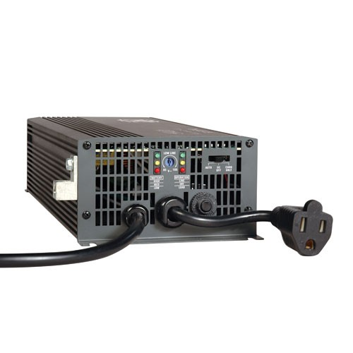 700W PowerVerter APS 12VDC 120V Inverter Charger Auto Transfer Switching 1 Outlet