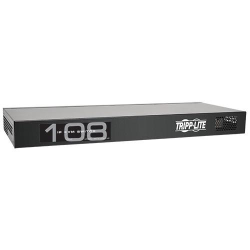 NetCommander 8 Port Cat5 IP KVM Switch 1U Rack Mount 1+1 User