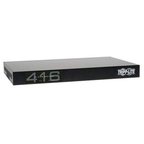 NetCommander 16 Port Cat5 IP KVM Switch 1U Rack Mount 4+1 User