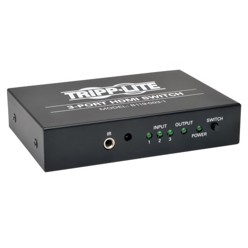 HDMI Switch with Remote 1920 1200 60Hz 1080p 3 Port
