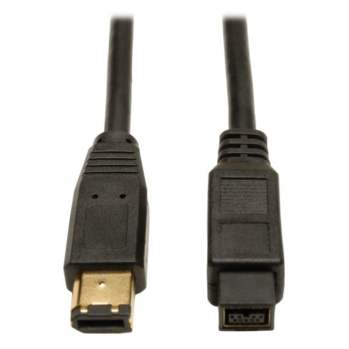 FireWire 800 IEEE 1394b Hi speed Cable 9pin 6pin Male Male 6 ft
