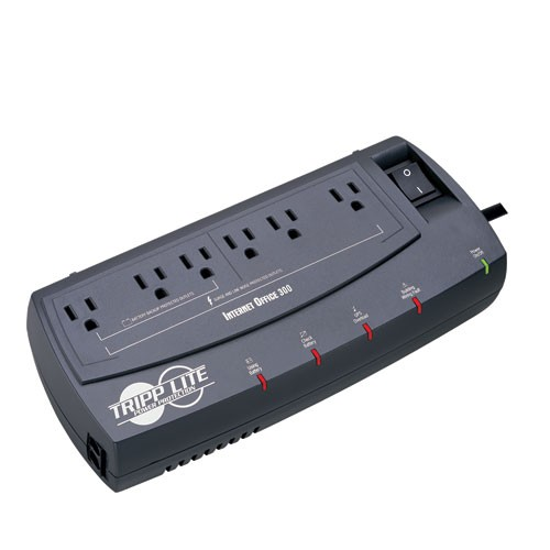 Internet Office 120V 300VA 150W Standby UPS Ultra Compact Desktop 6 Outlets Tel DSL Ethernet Protection TAA
