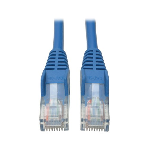 Cat5e Snagless Molded Patch Cable 350MHz RJ45 Male Blue 30 ft