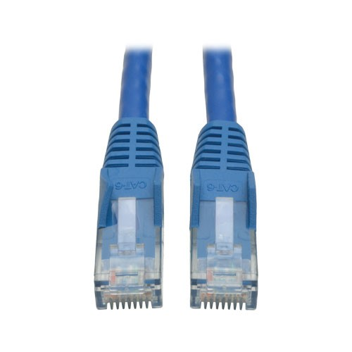 Cat6 Gigabit Snagless Molded Patch Cable RJ45 Male Blue 7 ft