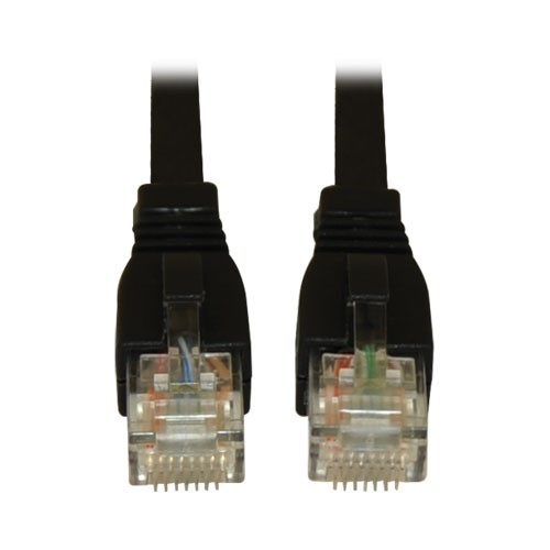 Augmented Cat6 Cat6a Snagless 10G Certified Patch Cable RJ45 Black 7 Feet