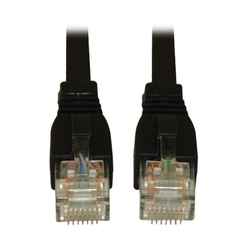 Augmented Cat6 Cat6a Snagless 10G Certified Patch Cable RJ45 Black 14 Feet