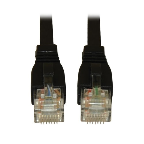 Augmented Cat6 Cat6a Snagless 10G Certified Patch Cable RJ45 Black 20 Feet