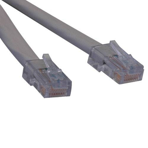 T1 Shielded RJ48C Cross Over Cable RJ45 Male 7 ft