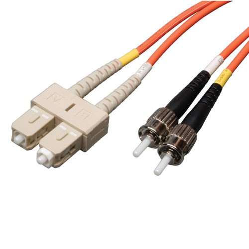 Duplex Multimode 62.5 125 Fiber Patch Cable SC ST 2M 6 ft