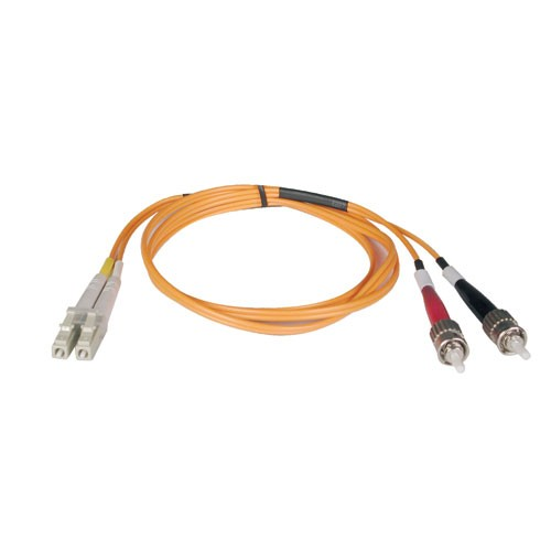 Duplex Multimode 62.5 125 Fiber Patch Cable LC ST 30M 100 ft