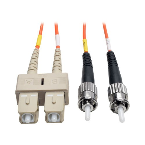 Duplex Multimode 50 125 Fiber Patch Cable SC ST 2M 6 ft