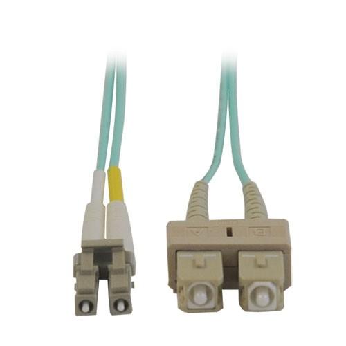 10Gb Duplex Multimode 50 125 OM3 LSZH Fiber Patch Cable LC SC Aqua 3M 10 ft