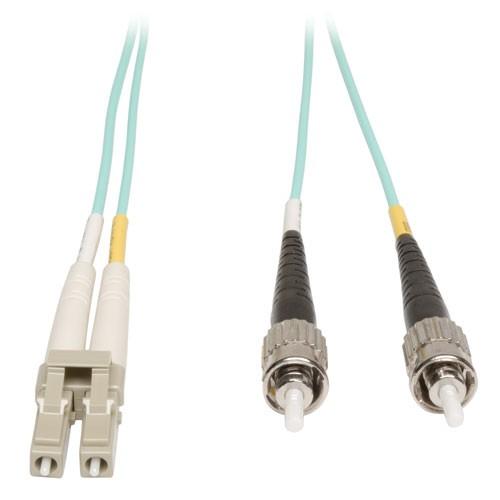10Gb Duplex Multimode 50 125 OM3 LSZH Fiber Patch Cable LC ST Aqua 1M 3 ft