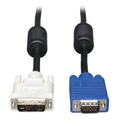 DVI to Coax VGA Monitor Cable DVI A to HD15 Male 3 ft