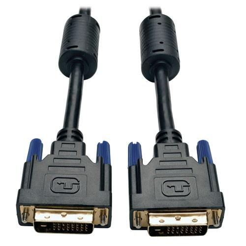 DVI Dual Link Cable Digital TMDS Monitor Cable DVI D Male Male 100 ft