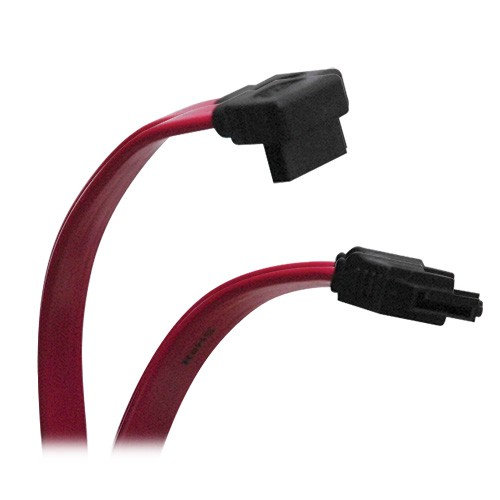 Serial ATA SATA Right Angle Signal Cable 7Pin 7Pin Up 12 Inches