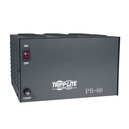 TAA Compliant 60 Amp DC Power Supply 13.8VDC Precision Regulated AC DC Conversion
