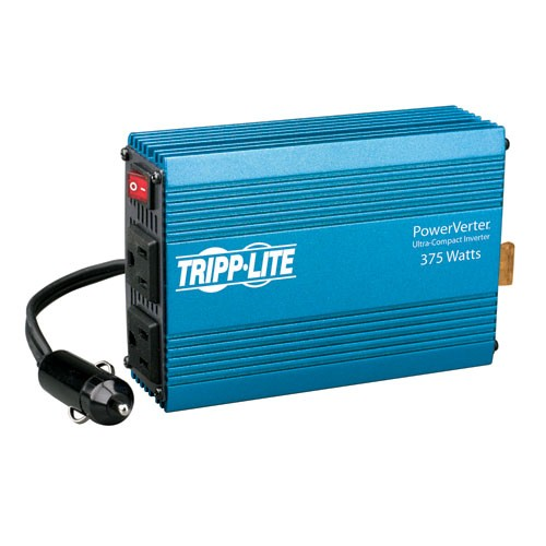 375W PowerVerter Ultra Compact Car Inverter 2 Outlets
