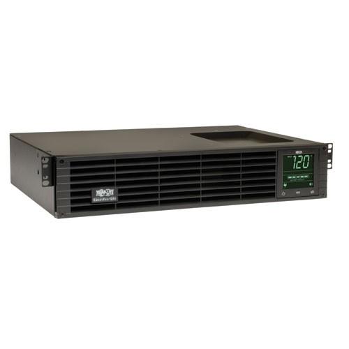 TAA SmartPro 120V 1.5kVA 1.35kW Line Interactive Sine Wave UPS 2U Extended Run Network Card Options LCD USB DB9