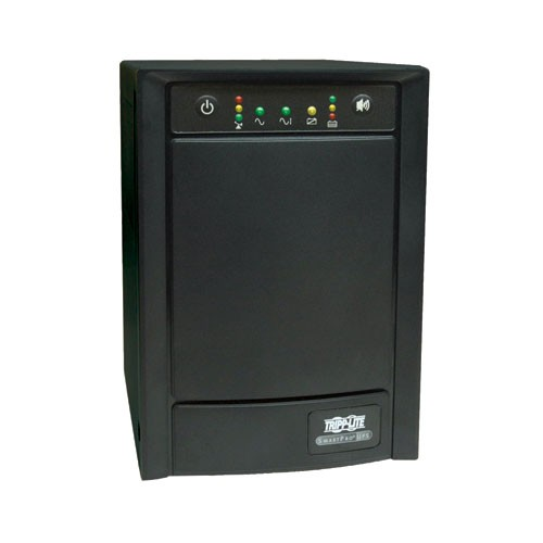 SmartPro 120V 750VA 500W Line Interactive Sine Wave UPS Tower SNMPWEBCARD Option USB DB9 Serial