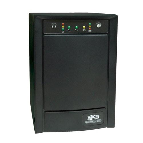 SmartPro 120V 750VA 500W Line Interactive Sine Wave UPS Tower Extended Run SNMPWEBCARD Option USB DB9 Serial