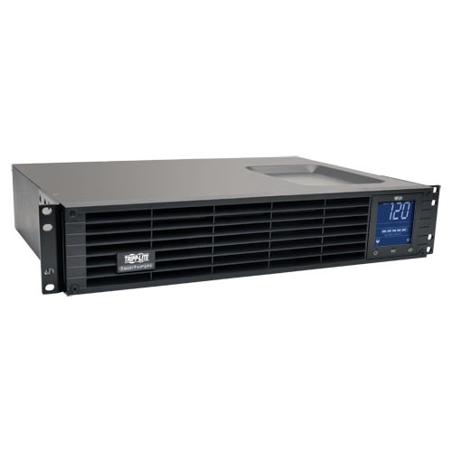 SmartPro 120V 1.5kVA 1kW Line Interactive Sine Wave UPS 2U Rack Tower LCD USB DB9 8 Outlets