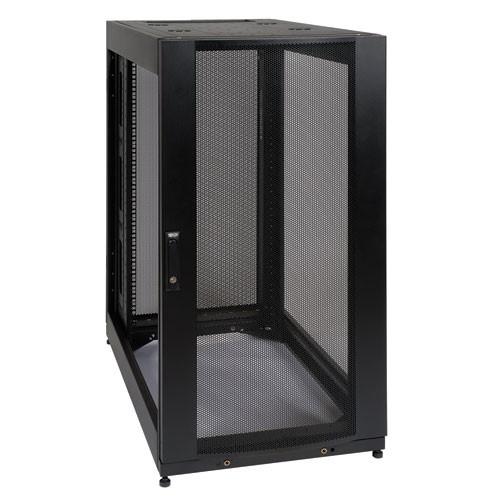 25U SmartRack Standard Depth Rack Enclosure Cabinet Expansion Version side panels not included