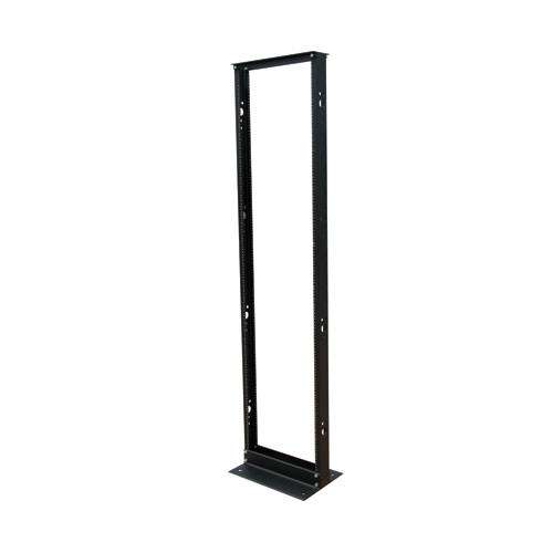 TAA Compliant 45U SmartRack 2 Post Open Frame Rack Organize Secure Network Rack Equipment