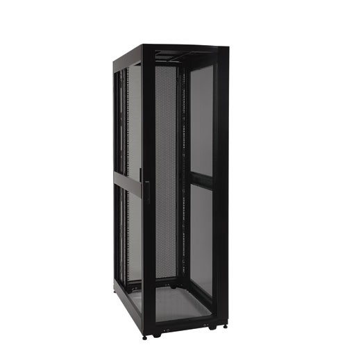 42U SmartRack Expandable Standard Depth Server Rack Enclosure Cabinet side panels not included