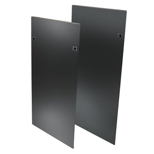 48U SmartRack Heavy Duty Open Frame side panels latches