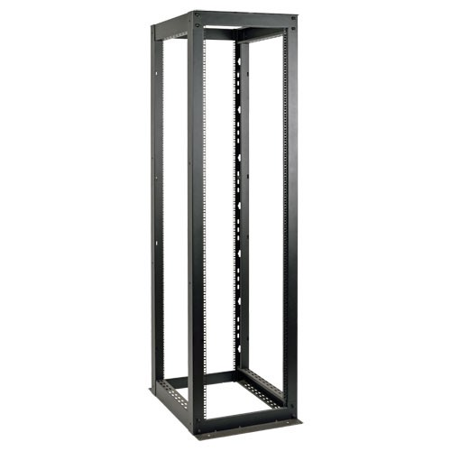 50U Heavy Duty 4 Post SmartRack Open Frame Rack Organize Secure Network Rack Equipment