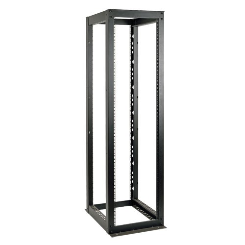 58U Heavy Duty 4 Post SmartRack Open Frame Rack Organize Secure Network Rack Equipment