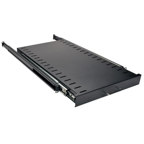 SmartRack Heavy Duty Sliding Shelf 200 lb 91 kg capacity 28.3 in 719 mm depth