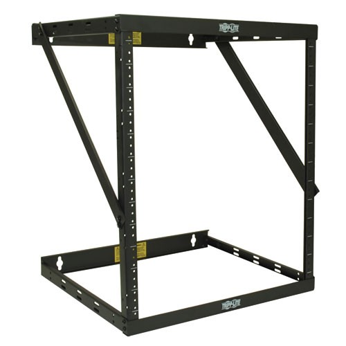 SmartRack 8U 12U 22U Expandable Flat Pack Low Profile Switch Depth Wall Mount 2 Post Open Frame Rack