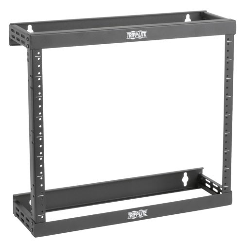 SmartRack 8U 12U 22U Expandable Ultra Low Profile Patch Depth Wall Mount 2 Post Open Frame Rack