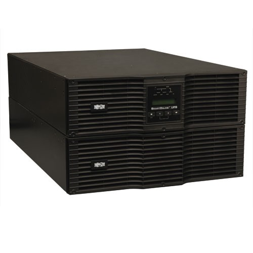 SmartOnline 208 240 230V 10kVA 9kW Double Conversion UPS 6U Rack Tower Extended Run SNMPWEBCARD Option USB DB9 Bypass Switch C19 outlets
