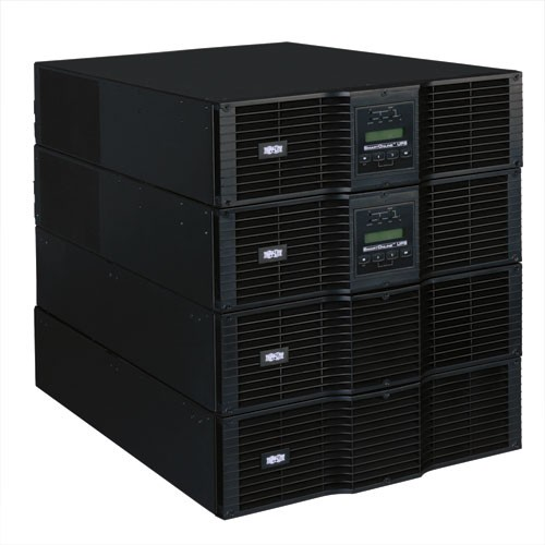 SmartOnline 208 240V 16kVA 14.4kW Double Conversion UPS N+1 12U Rack Tower Extended Run SNMPWEBCARD Option USB DB9 Serial Bypass Switch L6 20R
