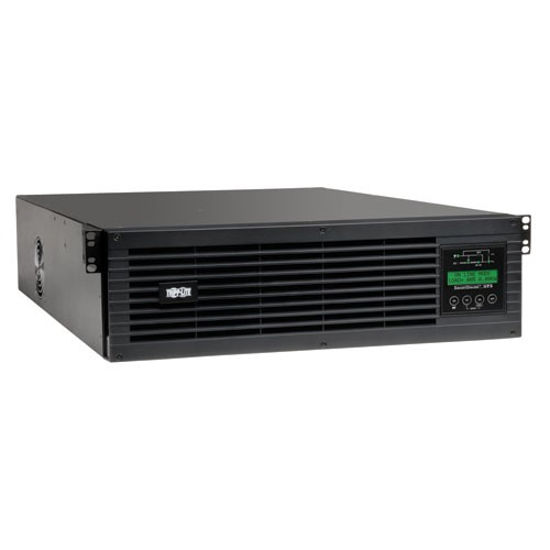 SmartOnline 120V 3kVA 2.7kW Double Conversion UPS 3U Rack Tower Extended Run SNMPWEBCARD Option LCD display USB DB9 Serial