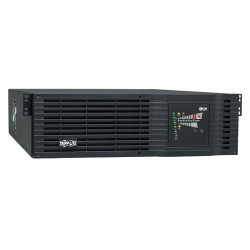 SmartOnline 120V 3kVA 2.4kW Double Conversion UPS 3U Rack Tower Extended Runtime Oversize Batteries SNMPWEBCARD Option USB DB9 Serial Hardwire