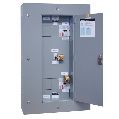 3 Breaker Maintenance Bypass Panel SU80KX SU80KTV