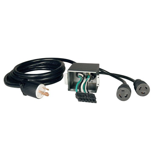 Corded UPS Backplate Outlet Kit SU6000RT3UHV UPS 200 208 240V Input Output NEMA L6 30R