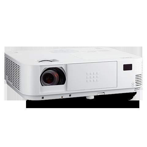 NEC 3600-Lumen XGA Projector with Dual HDMI Inputs and 1.7X optical zoom