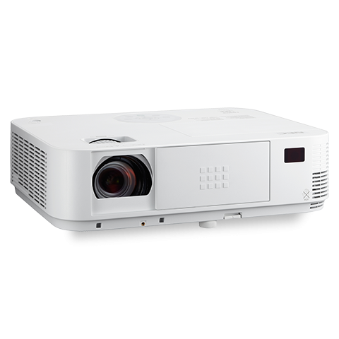 NEC 4000-Lumen 1080p Projector with Dual HDMI Inputs and 1.7X optical zoom