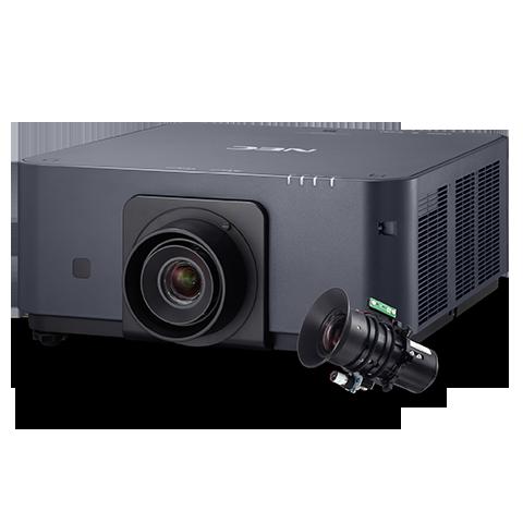 NEC 6000-lumen Advanced Professional Installation Laser Projector w/Lens