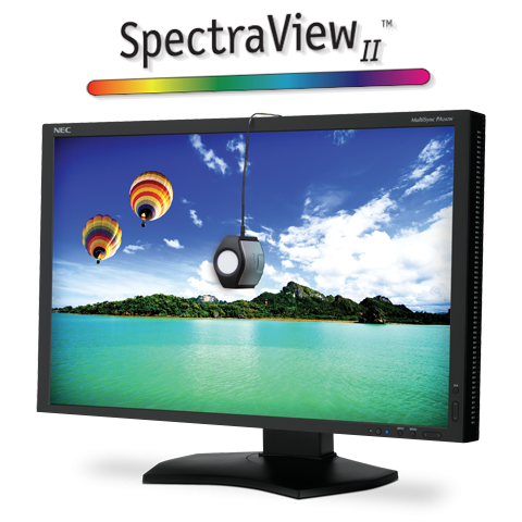 NEC Color Critical Wide Gamut Desktop Monitor w/ SpectraViewII