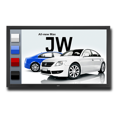 """NEC 55"""" V Series LED Backlit Touch Integrated Large Screen Display"""