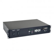 5kW Single Phase ATS Switched PDU 208V 16 C13 2 C19 1 L6 30R 2 L6 30P Input Cords 2U Rack Mount