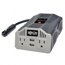 400W PowerVerter Ultra Compact Car Inverter 2 Outlets 2 USB Charging Ports