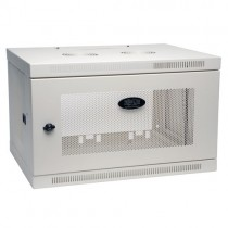SmartRack 6U Low Profile Switch Depth Wall Mount Rack Enclosure Cabinet White